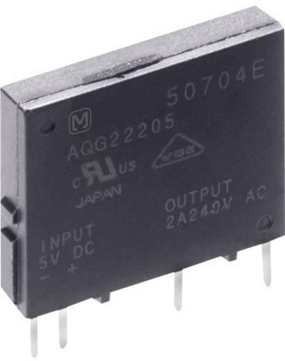 Panasonic AQG22124 Halfgeleiderrelais 1 stuks Laadstroom (max.): 2 A Schakelspanning (max.): 264 V/AC Schakelend bij ove