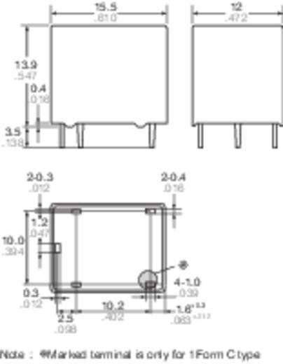 Auto-relais 12 V/DC 20 A 1x wisselaar Panasonic JJM112
