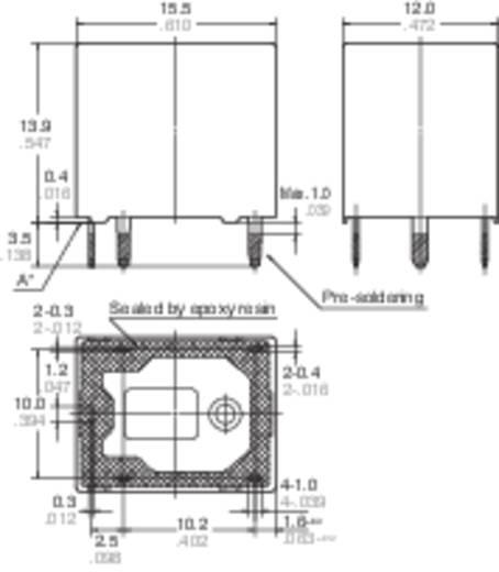 Auto-relais 12 V/DC 12 A 2x NO Panasonic