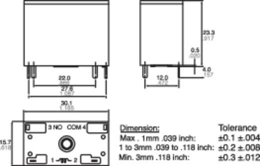 Panasonic ALF1P12 Printrelais 12 V/DC 25 A 1x NO 1 stuks