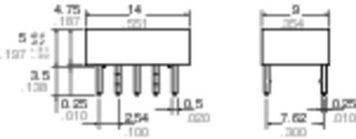 Panasonic TQ25 Printrelais 5 V/DC 1 A 2x wisselaar 1 stuks