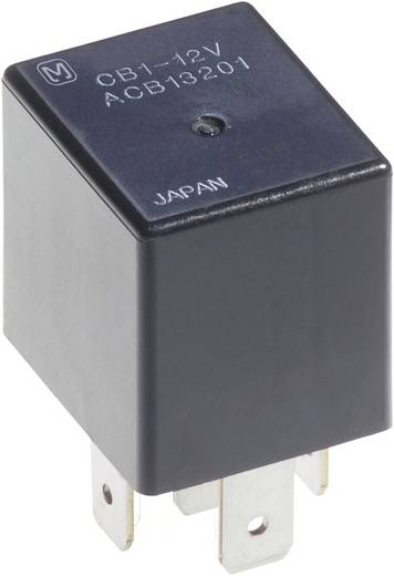 Auto-relais 12 V/DC 40 A 1x wisselaar Panasonic CB112
