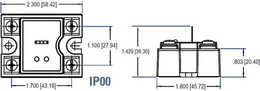 Crydom CD4850W3V Halfgeleiderrelais 1 stuks Laadstroom (max.): 50 A Schakelspanning (max.): 660 V/AC Schakelend bij over
