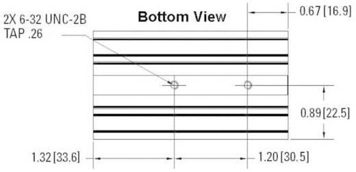 Koellichaam 2 K/W (l x b x h) 81 x 45 x 86.5 mm <br