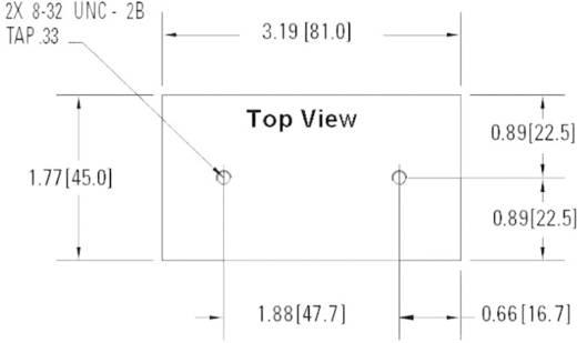 Koellichaam 1.5 K/W (l x b x h) 81 x 45 x 106.5 mm Crydom HS151DR