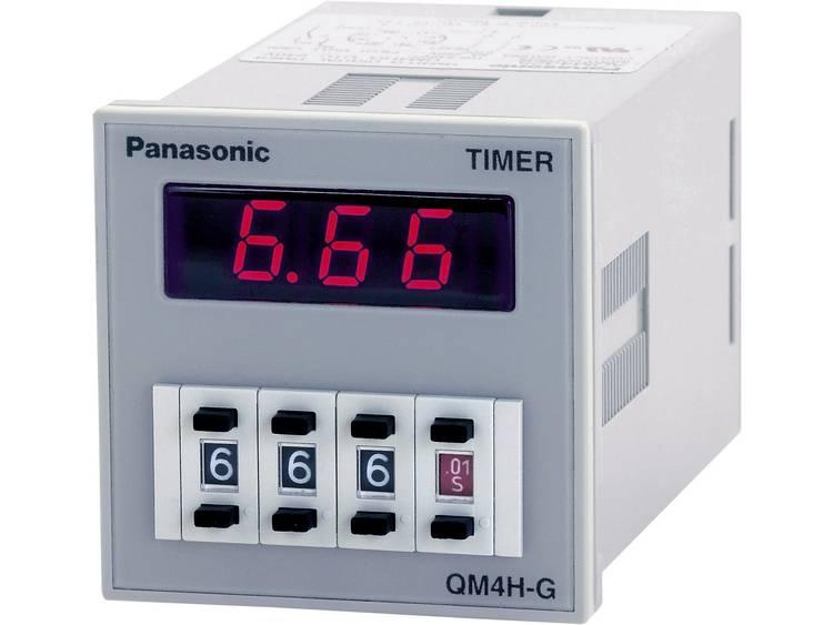 Monofunctioneel tijdrelais QM4H Panasonic QM4HSU2C48VJ 12 48 V~-= 1 potentiaalvrije wisselaar max. 5