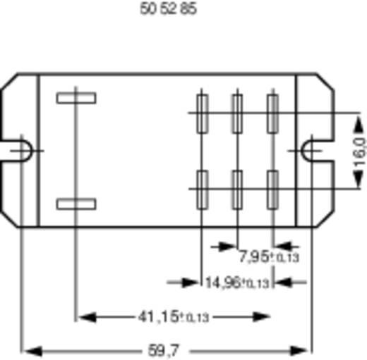 1393211-62 Steekrelais 240 V/AC 30 A 2x NO 1 stuks