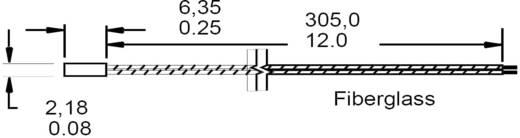 Honeywell HEL-707-T-0-12-00 Temperatuursensor HEL-serie -75 tot +540 °C Soort behuizing Keramische behuizing