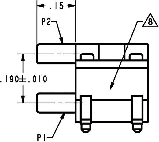 Druksensor 1 stuks Honeywell 26PC05SMT 0 psi
