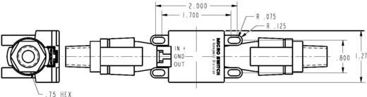 Honeywell AWM5102 VN Doorstroomsensor 1 stuks Voedingsspanning (bereik): 10 - 15 V/DC Meetbereik: 0 - 10 l/min (l x b x