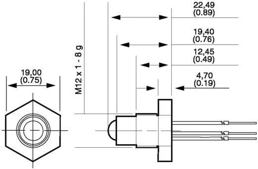 Honeywell LLE102101 Niveausensor 1 stuks Voedingsspanning (bereik): 5 - 12 V/DC