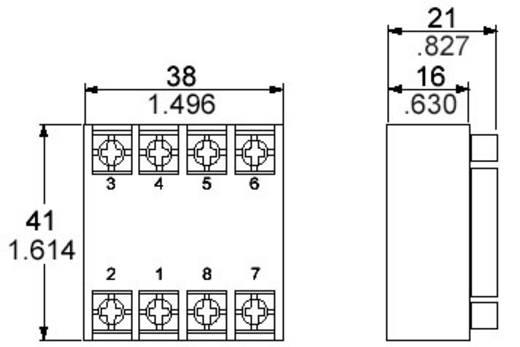 Panasonic AT78041J Relaissocket 1 stuks (l x b x h) 41 x 38 x 21 mm