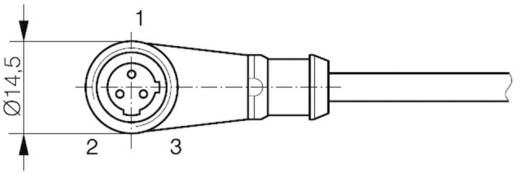 Contrinex 623 000 940 S13-3FUW-020 Aansluitkabel 3-polig voor naderingssensor/-schakelaar Uitvoering (algemeen) Haakse c