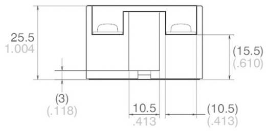 Panasonic AQA211VL Halfgeleiderrelais 1 stuks Laadstroom (max.): 15 A Schakelspanning (max.): 250 V/AC Schakelend bij ov