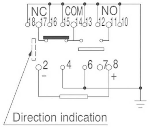 Panasonic ARS14A4H SMD-relais 4.5 V/DC 0.5 A 1x wisselaar 1 stuks
