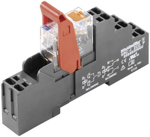 Relaiskoppeling Riderseries Weidmüller RCIKITP 24VDC 1CO LD/PB 1 wisselcontact 16 A