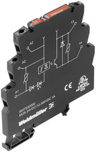 Weidmüller MOS 12-28VDC/5VTTL Halfgeleiderrelais 1 stuks Laadstroom (max.): 50 mA Schakelspanning (max.): 5 V/DC