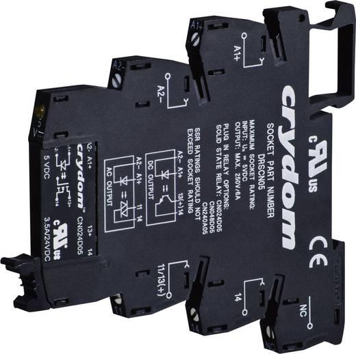 Crydom DRA-CN240A05 Halfgeleiderrelais 1 stuks Laadstroom (max.): 2 A Schakelspanning (max.): 280 V/AC Schakelend bij ov