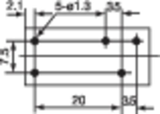 Hongfa Printrelais 6 V/DC 10 A 1x wisselaar 1 stuks