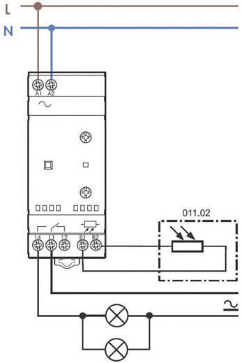 Schemerschakelaar Finder 11.41.8.230.0000 (Standaardbereik/hoog bereik) 1 - 80/30 - 1000 lx 230 V / 50-60 Hz 1 wisselcon