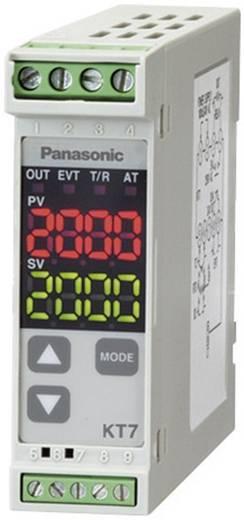 Panasonic AKT7111100J Temperatuurregelaar K, J, R, S, B, E, T, N, PL-II, C, Pt100, Pt100 -200 tot +1820 °C Relais 3 A, Transistor (l x b x h) 100 x 22.5 x 75 mm