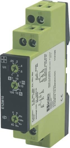 tele E1ZM10 24-240VAC/DC Multifunctioneel Tijdrelais 1 stuks 1x wisselaar