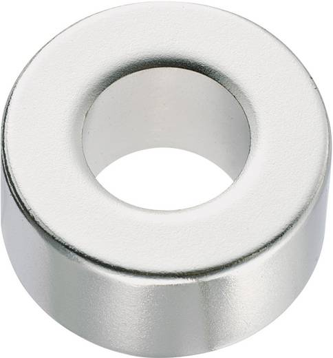 Conrad Components Permanente magneet Ring N35M 1.24 T Grenstemperatuur (max.): 100 °C