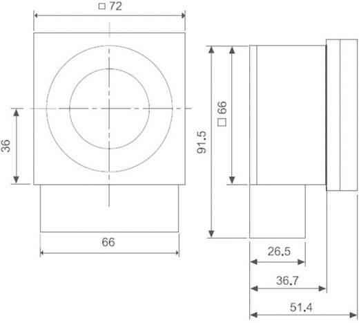 Finder 12.31.8.230.0007 Schakelklok voor DIN-rails Voedingsspanning (num): 230 V/AC 1x wisselaar 16 A