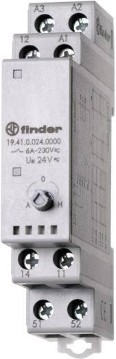 Finder 19.41.0.024.0000 Industrierelais 1 stuks Nominale spanning: 24 V/DC, 24 V/AC Schakelstroom (max.): 5 A 1x wissela