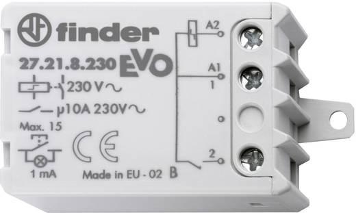 Stroomstootschakelaar chassis/inbouwdoos Finder27.21-8-30.0000 EVO230 V/AC1 NO10 Amax. 230 V~(AC1) max. 2300 VA/(AC15, 230 V) max. 500 VA