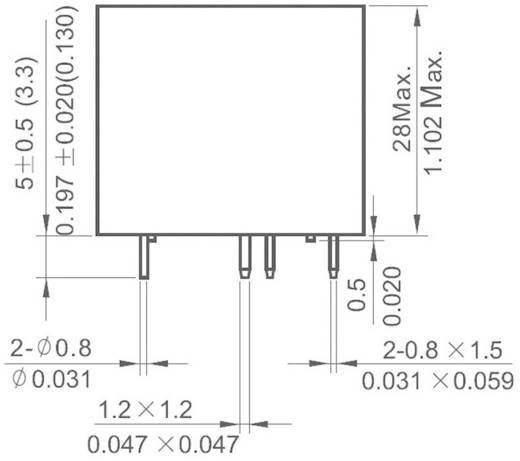 NT90THCE24CB Printrelais 24 V/DC 30 A 1x wisselaar 1 stuks