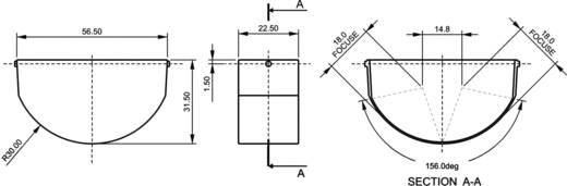 PIR-bewegingssensormodule 1 stuks A165/180