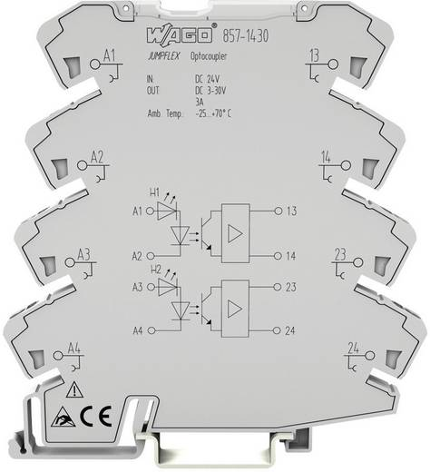 WAGO 857-1494 Optokoppelingsrelais 1 stuks Schakelspanning (max.): 60 V/DC