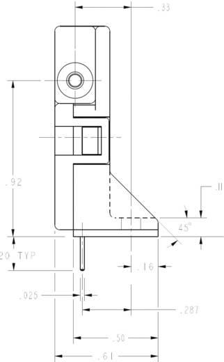 Honeywell AWM3300V Doorstroomsensor 1 stuks Voedingsspanning (bereik): 8 - 15 V/DC (l x b x h) 54.4 x 15.4 x 31.5 mm