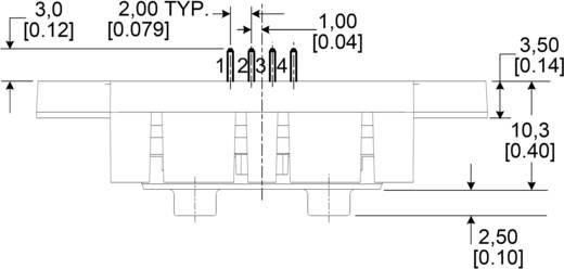 Honeywell HAF BSF 0200 C4AX5 Doorstroomsensor 1 stuks (l x b x h) 36 x 19.9 x 12.8 mm