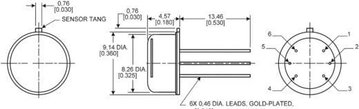 Honeywell HIH4602-L Vochtsensor 1 stuks Meetbereik: 0 - 100 % Hrel