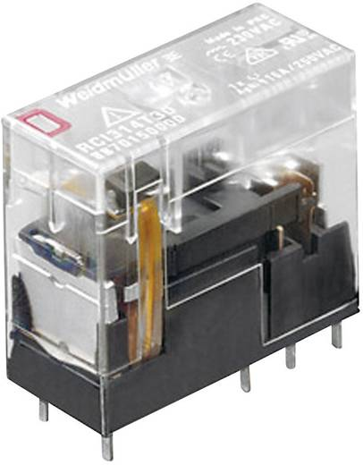 Weidmüller RCI424AC4 Steekrelais 24 V/DC 8 A 2x wisselaar 1 stuks