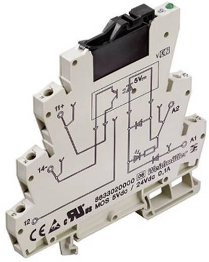 Weidmüller MOS 24Vdc / 24Vdc 0,1A MOS-optokoppeling van de Microseries Ingangssignaal 24 V/DC/5,7 mA Uitgangssignaal 3 - 48 V/DC/0,1 A 1 stuks
