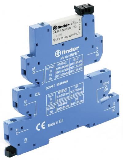 Koppelrelais 1 stuks 24 V/DC, 24 V/AC 6 A 1x wisselaar Finder 39.41.0.024.5060