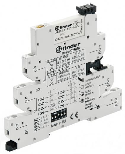 Koppelrelais 1 stuks 24 V/DC, 24 V/AC 6 A 1x wisselaar Finder 39.81.0.024.0060