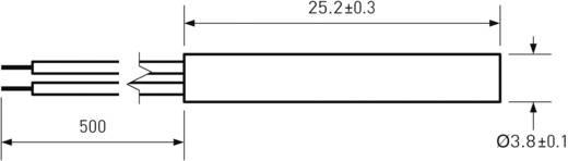 PIC MS-214-3 Reedcontact 1x NO 180 V/DC, 130 V/AC 0.7 A 10 W