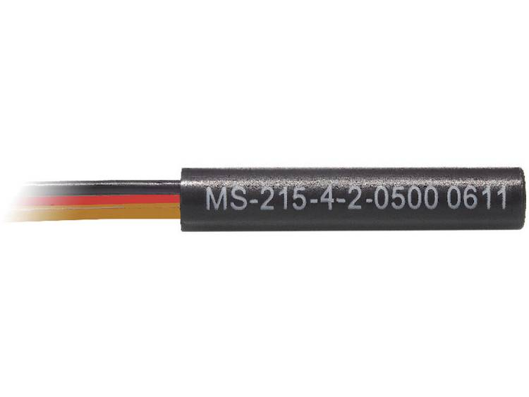 PIC MS-215-4 Cilindrische reedsensor MS-2XX 175 V-DC 120 V-AC 1 wisselcontact 250 mA 5 W
