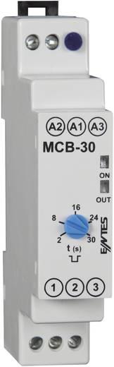 ENTES MCB-30 Monofunctioneel Tijdrelais 24 V/DC, 24 V/AC, 230 V/AC 1 stuks Tijdsduur: 2 - 20 s 1x wisselaar