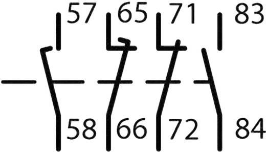 Hulpschakelaar DILA Eaton DILA-XHIV22 1 NO /1 NC /1 laatverbreekcontact/1 vroegmaakcontact