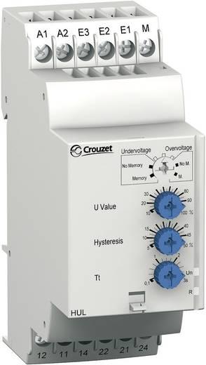 Multifunctioneel relais voor de spanningsbewaking Crouzet HUL Bewakingsrelais voor over- /onderspanning