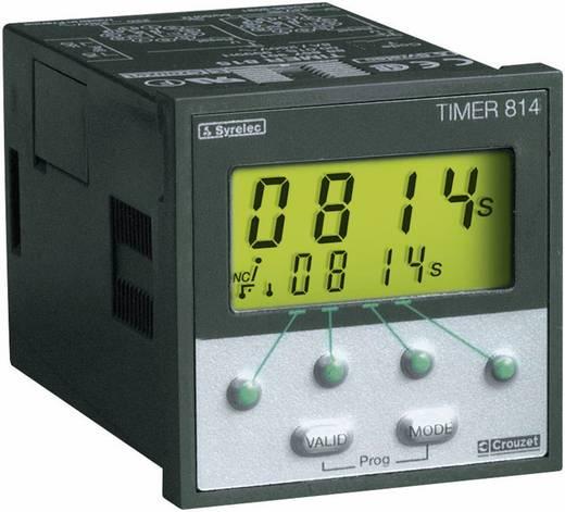 Crouzet TIMER 814 Multifunctioneel Tijdrelais 1 stuks 1x wisselaar