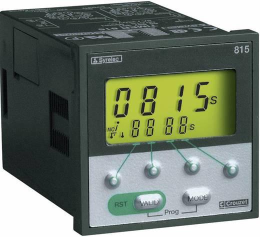 Crouzet TIMER 815 Multifunctioneel Tijdrelais 1 stuks 2x wisselaar