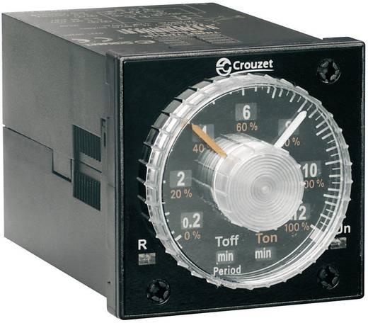 Crouzet TIMER TMR 48L Multifunctioneel Tijdrelais 1 stuks Tijdsduur: 0.02 s - 300 h 2x wisselaar