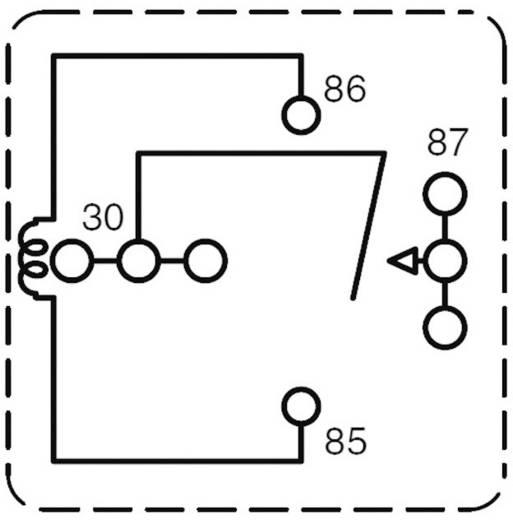 Auto-relais 24 V/DC 80 A 1x NO Zettler Electronics AZ983-1A-24D