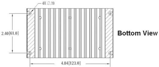 Koellichaam 1 K/W (l x b x h) 132.1 x 76.2 x 60.2 mm Crydom HS103